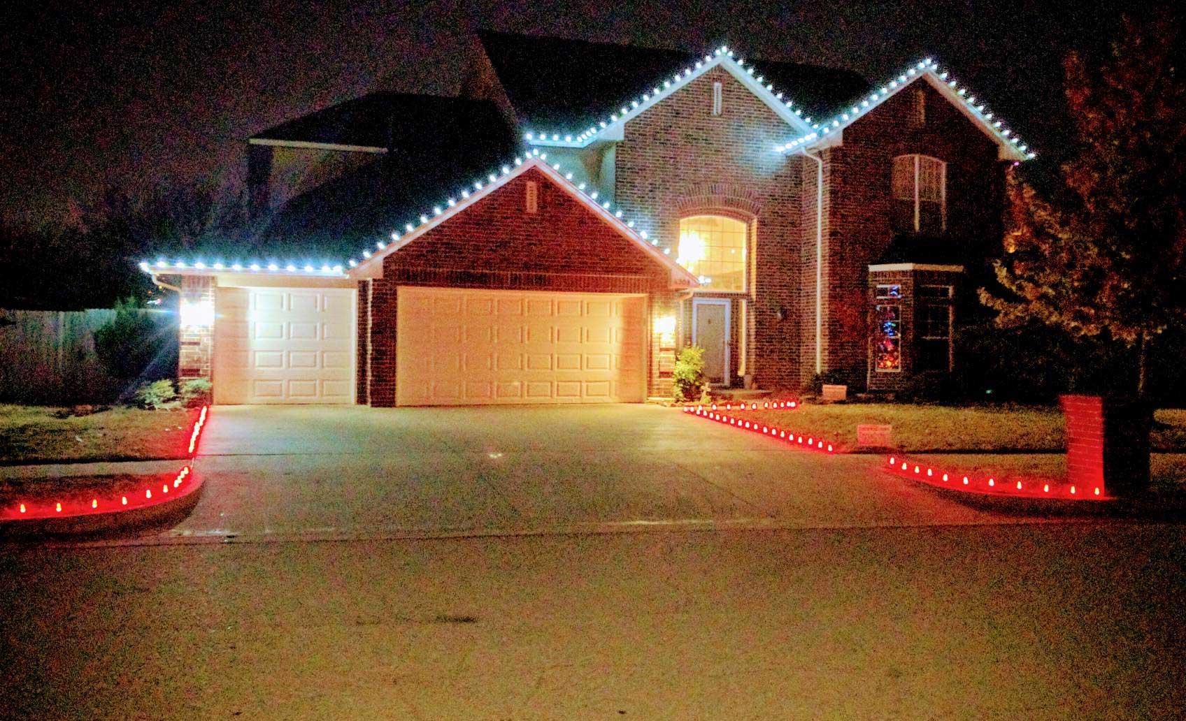 Residential Christmas Light Installation