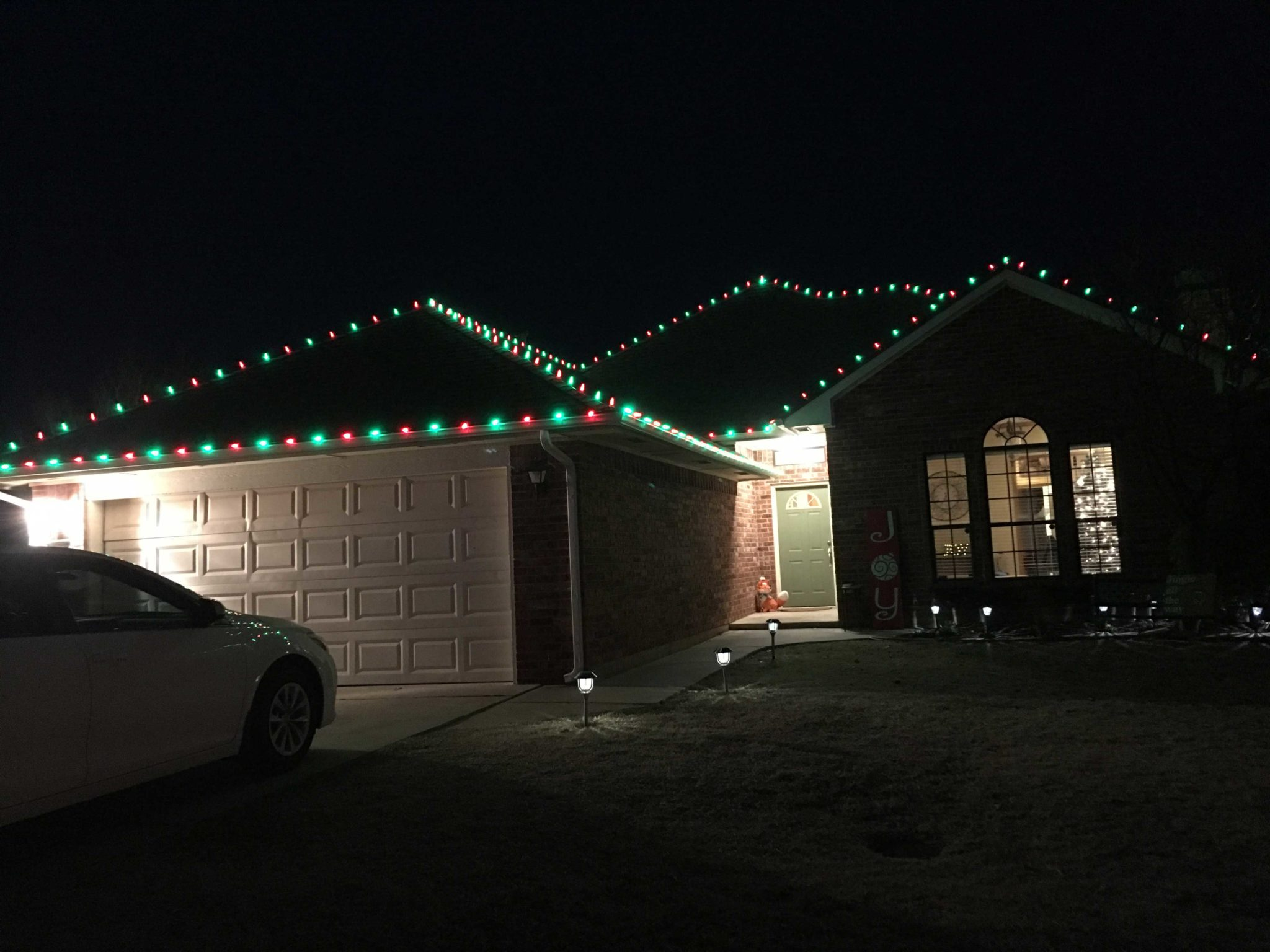 Residential Christmas Light Installation